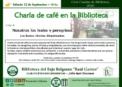 Ciclo «Charlas de Biblioteca»