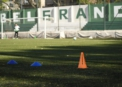 El Verde comenzó los entrenamientos presenciales