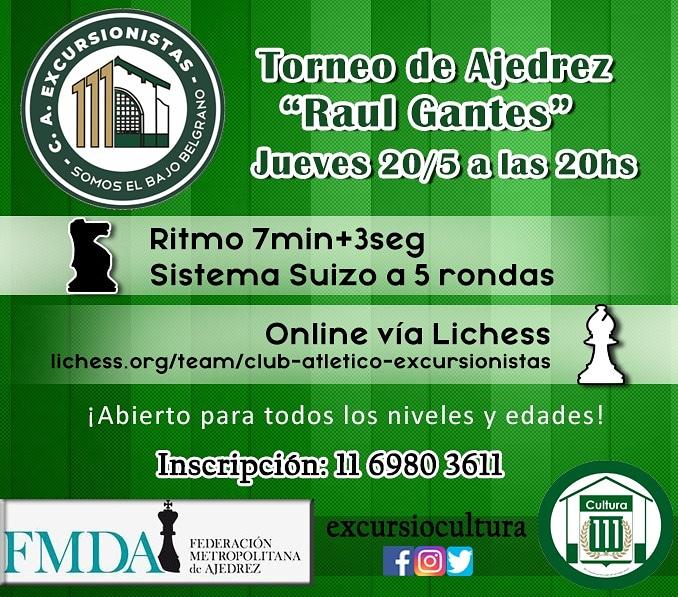 Copa «Raúl Gantes» 2021